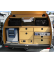 Off Road Full Galley Upgrade - 5 drawers & lengthwise fridge space